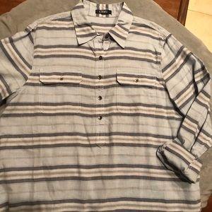 Chaps striped shirt (xl?)